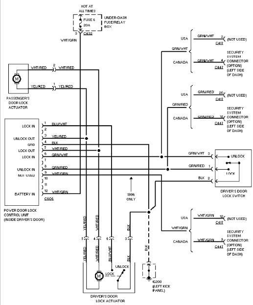 1978 vw del Schaltplan