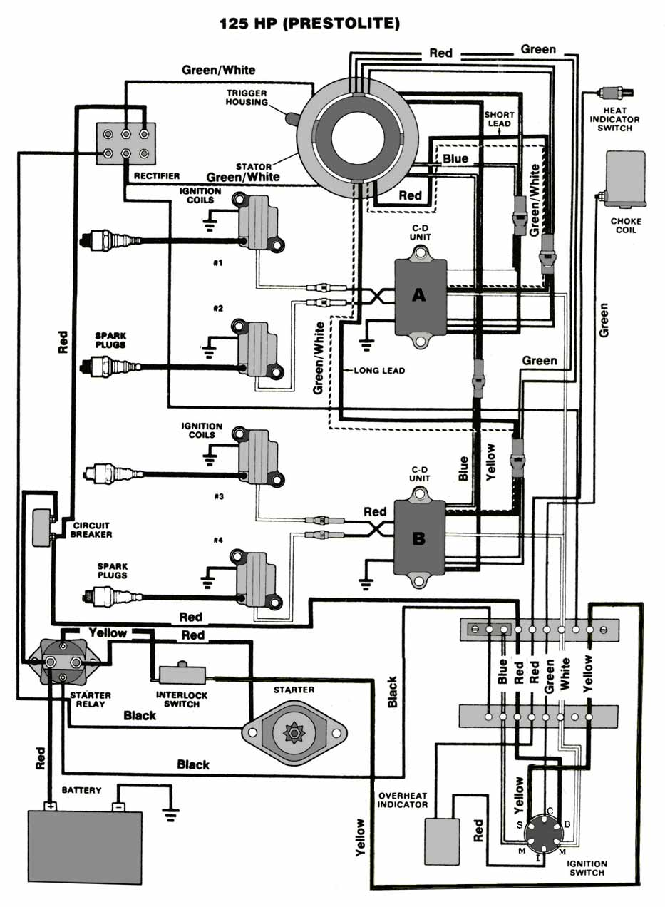 125 hp force outboard wiring diagram
