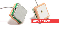 GPS Active Embedded Microstrip Antennas