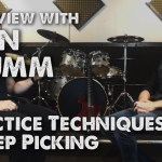 INTERVIEW – Dan Mumm, Part 2, Sweeping Picking and Practice Routines