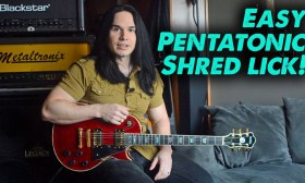 TAB – Pentatonic Shred Lick