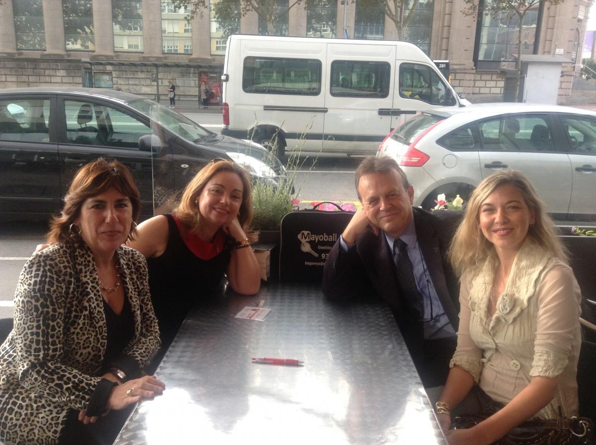 En el Barcelona Meeting Point cumpliendo los compromisos