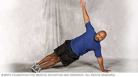 Slide show Exercises to improve your core strength - Mayo Clinic