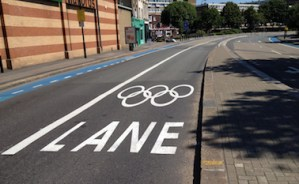 Olympic road closures come into effect