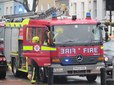 LFEPA oversees the capital's fire brigade.