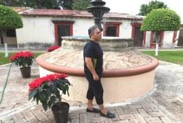 El Prof. José Luis Barbosa al Museo de Lola Beltrán en El Rosario Puebo Mágico