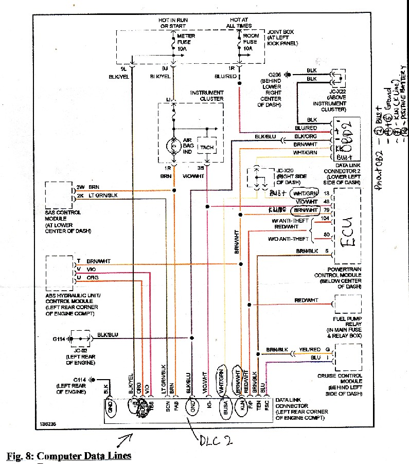 2000 mazda mpv wiring diagram schematic