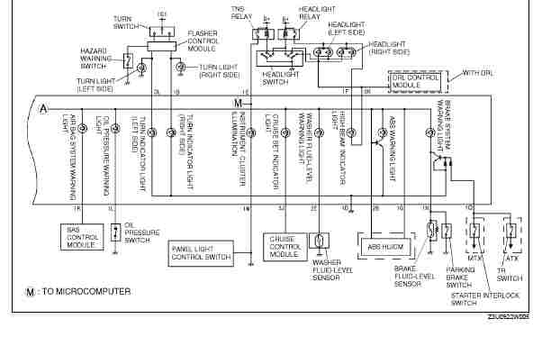 mazda protege wiring diagram manual
