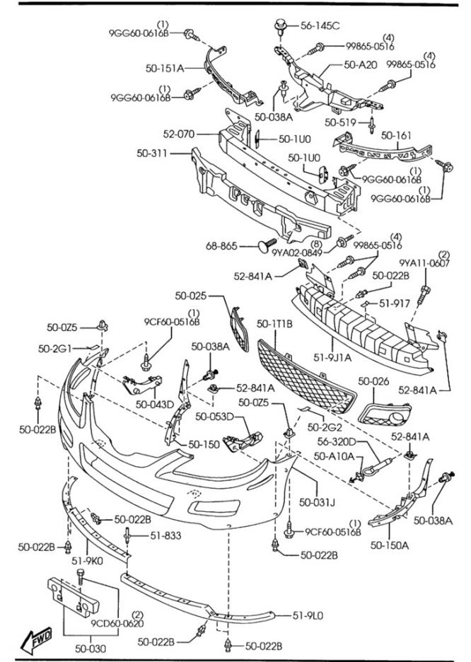 Mazda 6 Parts Diagram Wiring Diagram