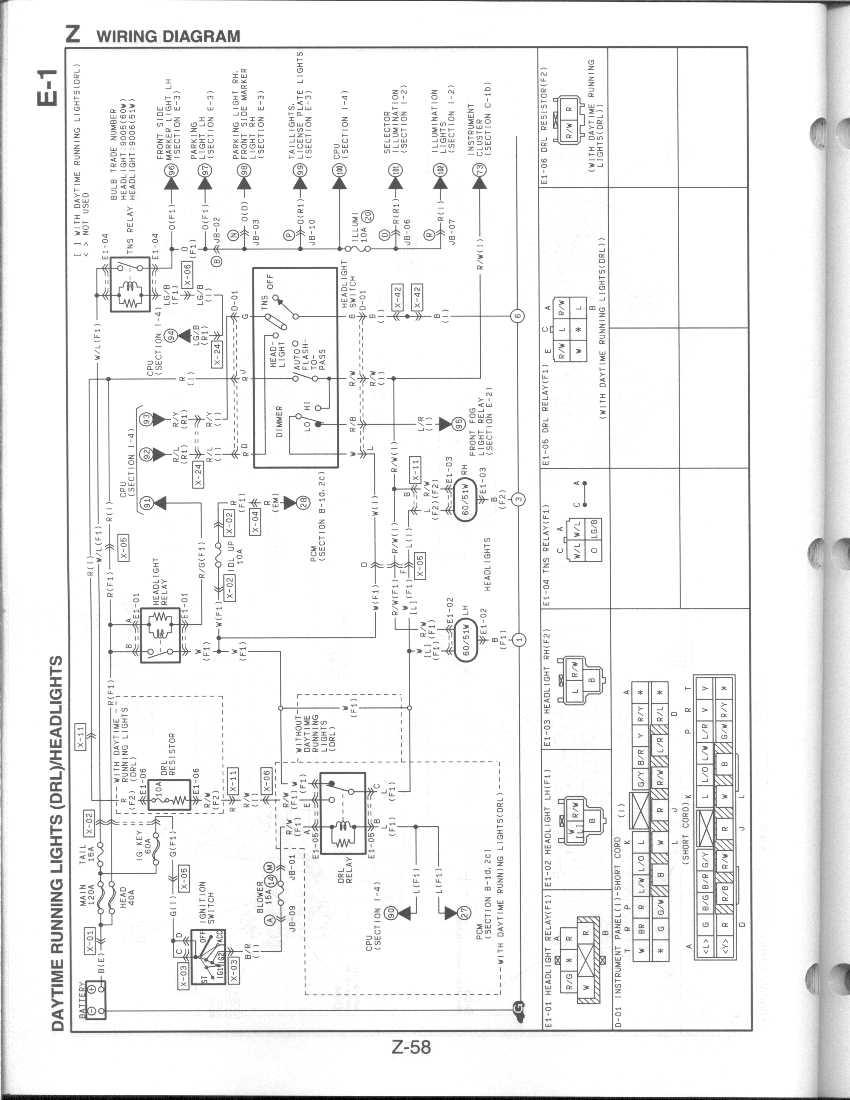 mazda eunos 800 wiring diagram