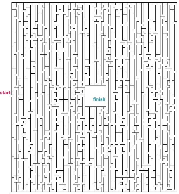 Pictures of Hard Printable Mazes - #rock-cafe