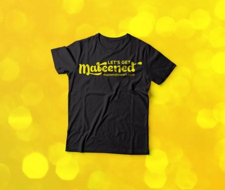Mateened T Shirt Design