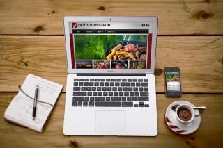 Outdoors R4 Fun Website