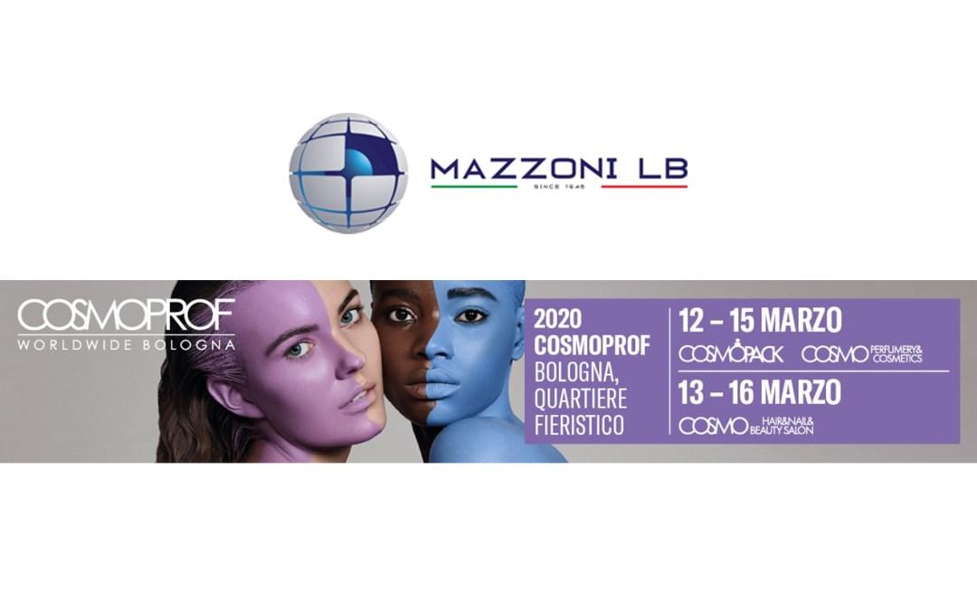 MAZZONI LB IN COSMOPROF BOLOGNA 2020 ITALY