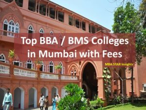 Top BBA / BMS Colleges in Mumbai with Fees