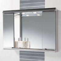 Mini Burga - Mirrored Bathroom Cabinets with Lights ...
