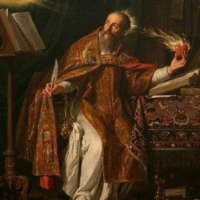 Luther didn't start the fire: St. Augustine of Hippo (354-430)