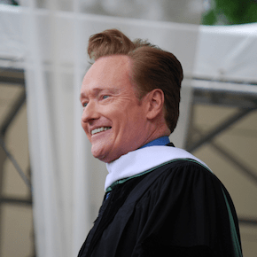 """What Doesn't Kill You Almost Kills You"" — Conan O'Brien"