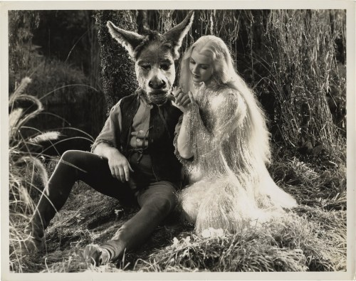 Bottom and Titania ~ James Cagney and Anita Louise in A Midsummer Night's Dream, 1935