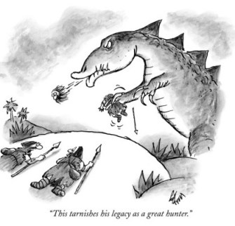 frank-cotham-this-tarnishes-his-legacy-as-a-great-hunter-new-yorker-cartoon