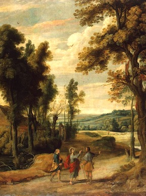 Jan_Wildens_-_Landscape_with_Christ_and_his_Disciples_on_the_Road_to_Emmaus_-_WGA25745