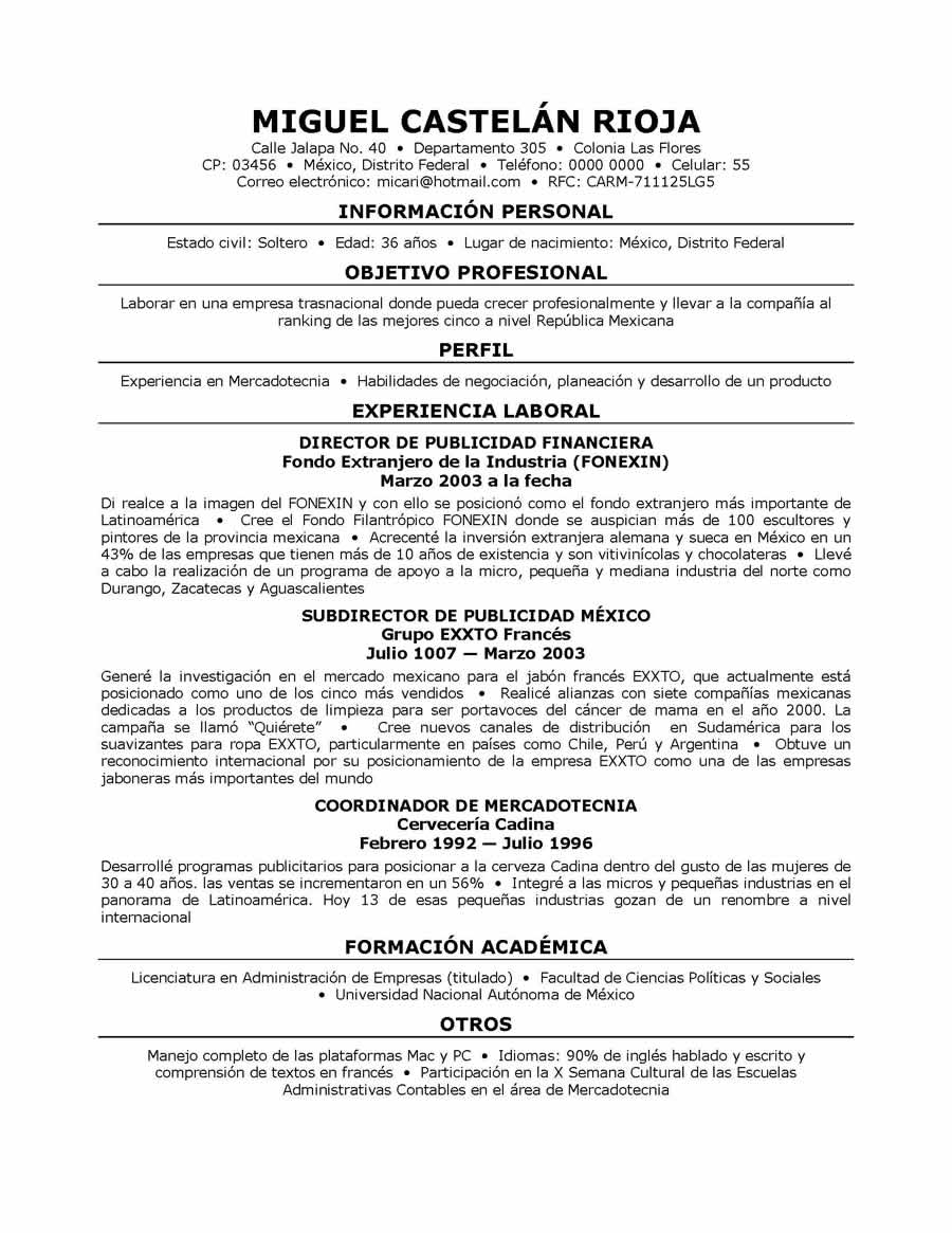 resume templates in spanish crop consultant sample resume formato e medium resume templates in spanishhtml