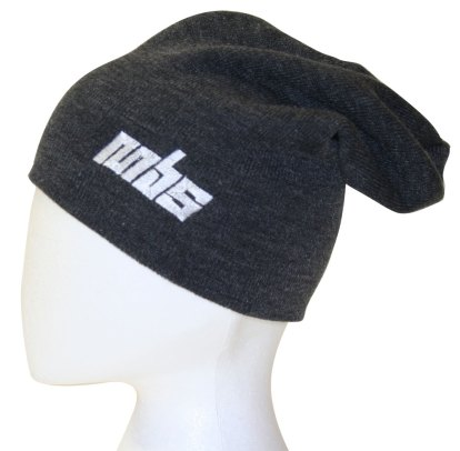 MBS Slouch Beanie - Grey