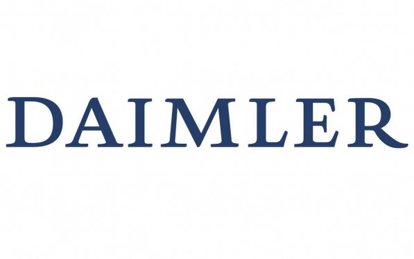 daimler ag logo 597x373 Daimler Reports Year to Date Sales Increase of Almost 20%