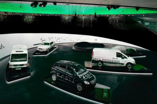 mercedes legend 6 597x398 Legend 6 Exhibit Celebrates Evolution Of Vehicle Drive Systems