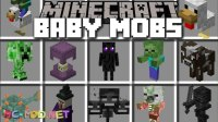 Baby Mobs Mod 1.12.2/1.11.2 for Minecraft