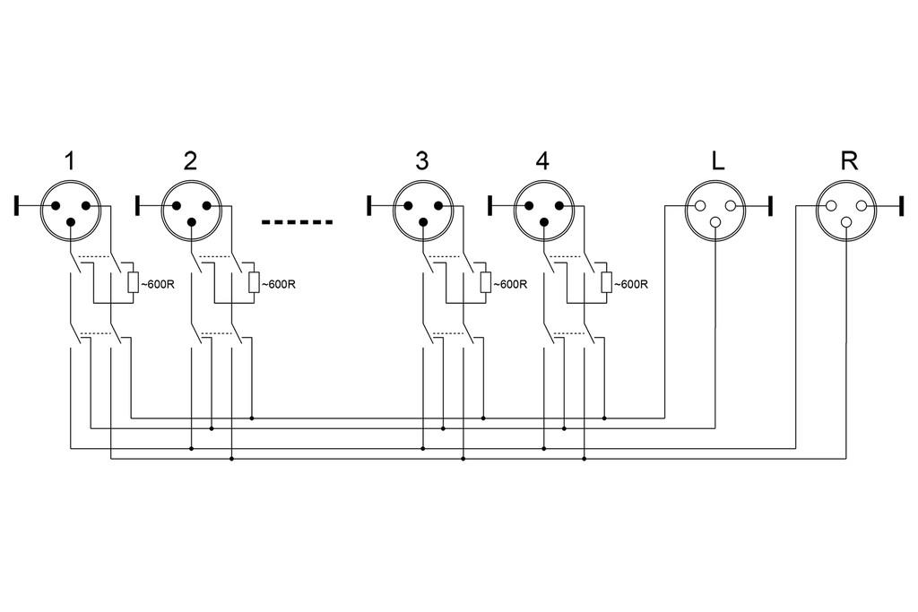audio Schaltplang reversing switch