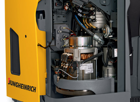 Electric Reach Truck Forklift ETR230-335D Jungheinrich