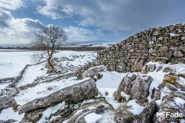 030 dales malham ribblesdale snow