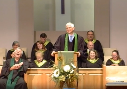 steve during the service sept 6
