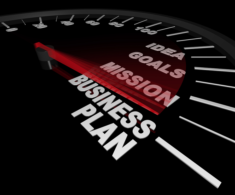 One Page Business Plan Template - McLellan Marketing Group - 5 minute business plan