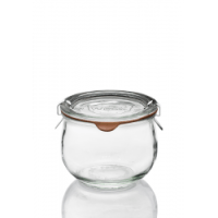 WECK-Mini-Tulpenglas 220 ml (Rundrand 60) 12 Glser ...