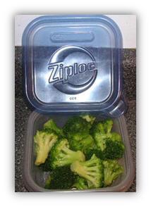broccoli diet on the go