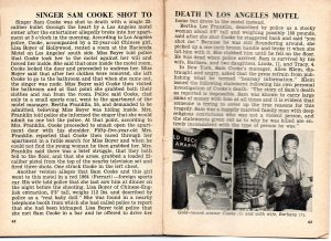 An earlier account detailing Sam Cooke's death. (Click image for larger view)