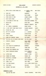 CKLW-AM radio survey, Windsor, October 1966 (click on image for larger view)