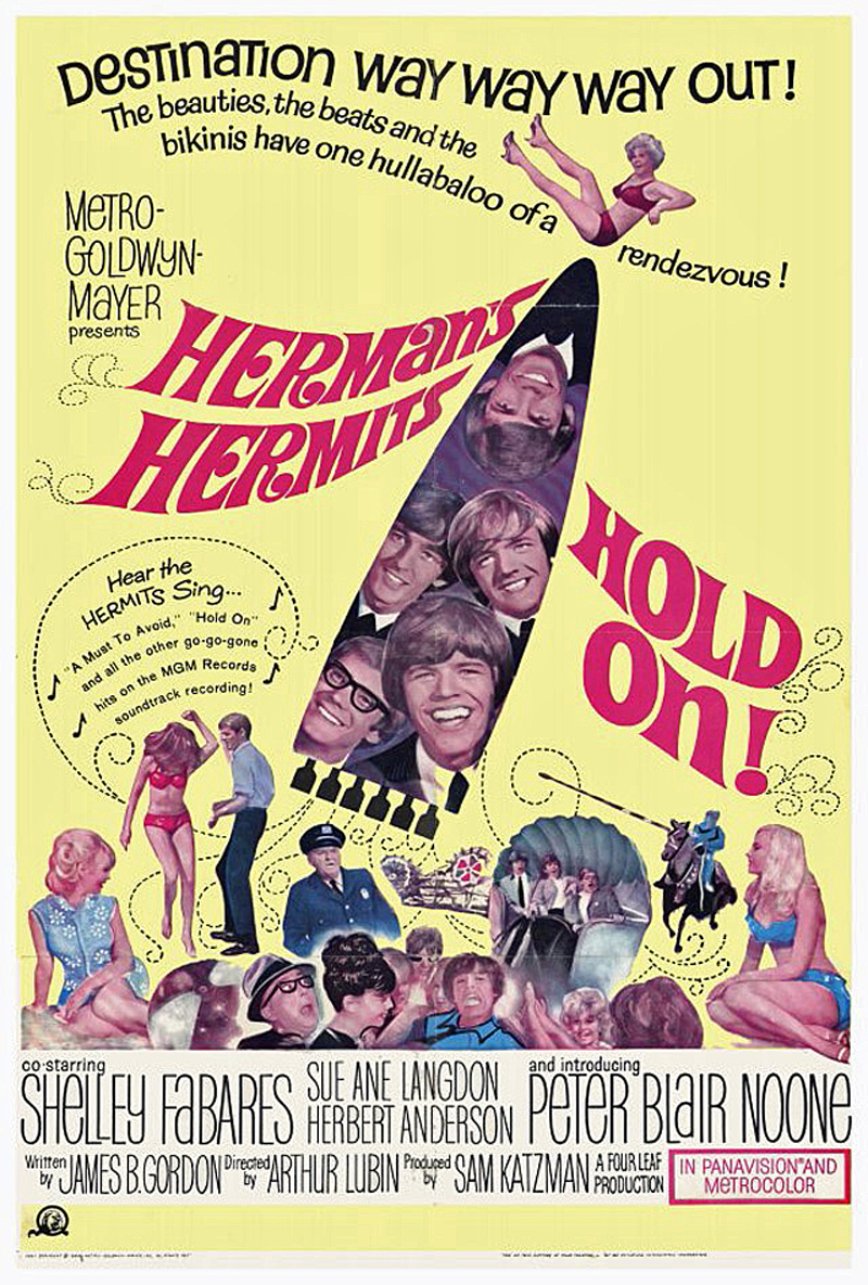Hold On!: HermanS Hermits Us Poster Peter Noone (Bottom