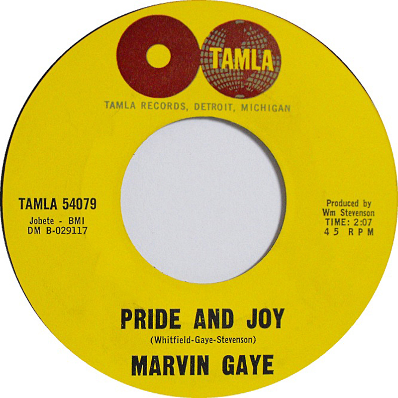 Pride and joy marvin gaye