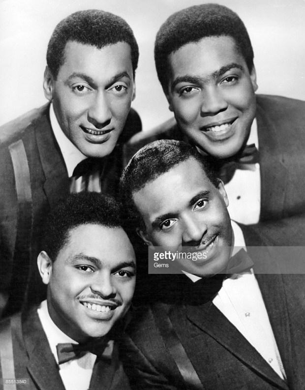 THE FOUR TOPS circa 1964