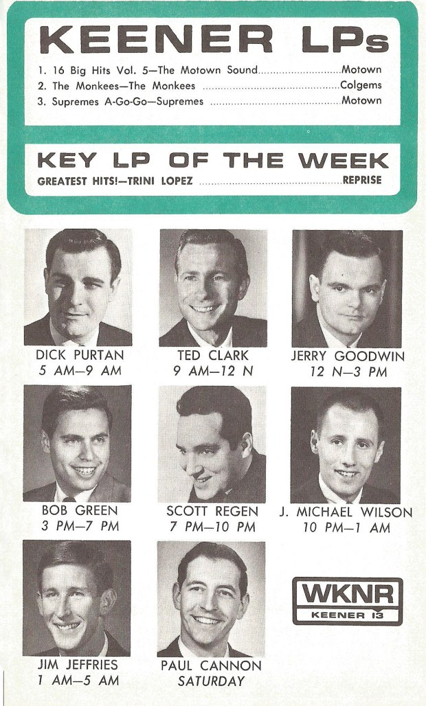 WKNR October 17, 1966 (click on image for largest PC view)