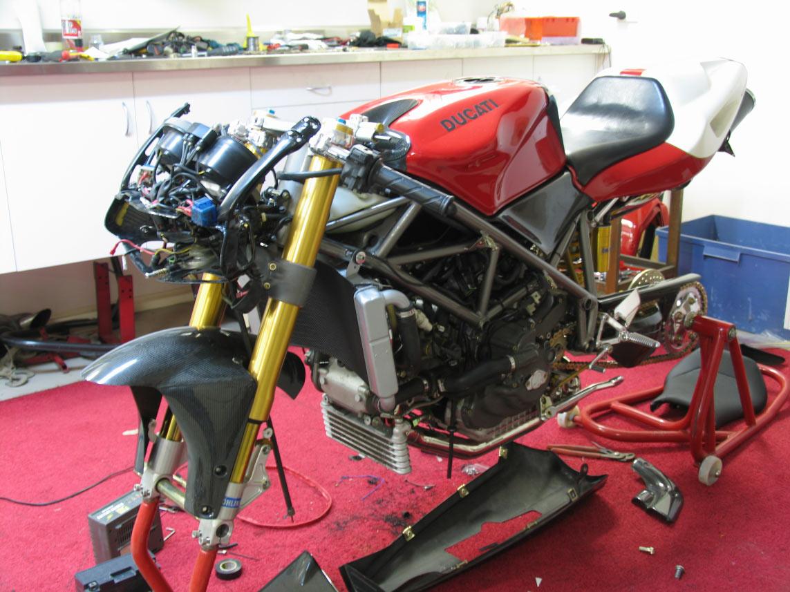 Ducati Strada 916 To 996 Rebuild Mc Roadrunner Mc