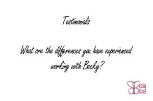 6 week program testimonial