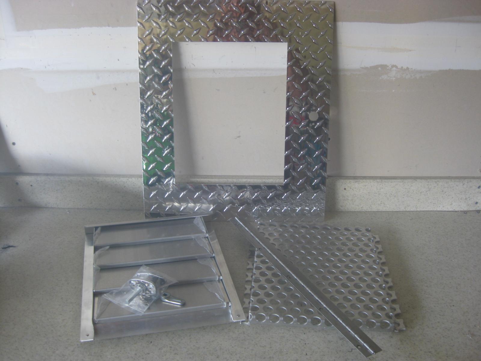 12 4 Diamond Door Kit Dog Box Parts