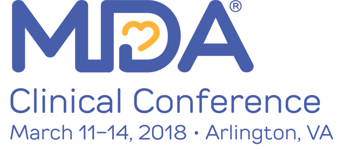 2018 Clinical Conference Agenda Muscular Dystrophy Association