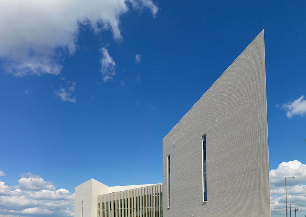 NHS Building Exterior