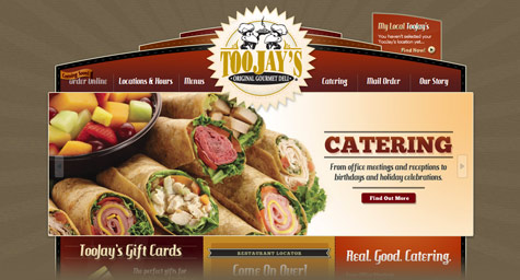 MDG Advertising Cooks Up a New Website for TooJay\u0027s Original Gourmet
