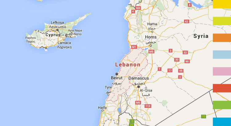 Fact sheet on current MDG progress of Lebanon (Arab States)